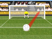 Brown Bag Clothing's Penalty Challenge Flash game