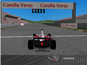 Toyota Racing Route - 3D Shockwave racing game