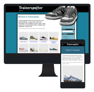 Trainerspotter, searching the web for the best trainers, so you don't have to