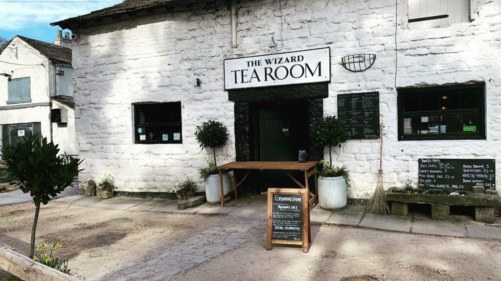 The Wizard Tearoom in Alderley Edge