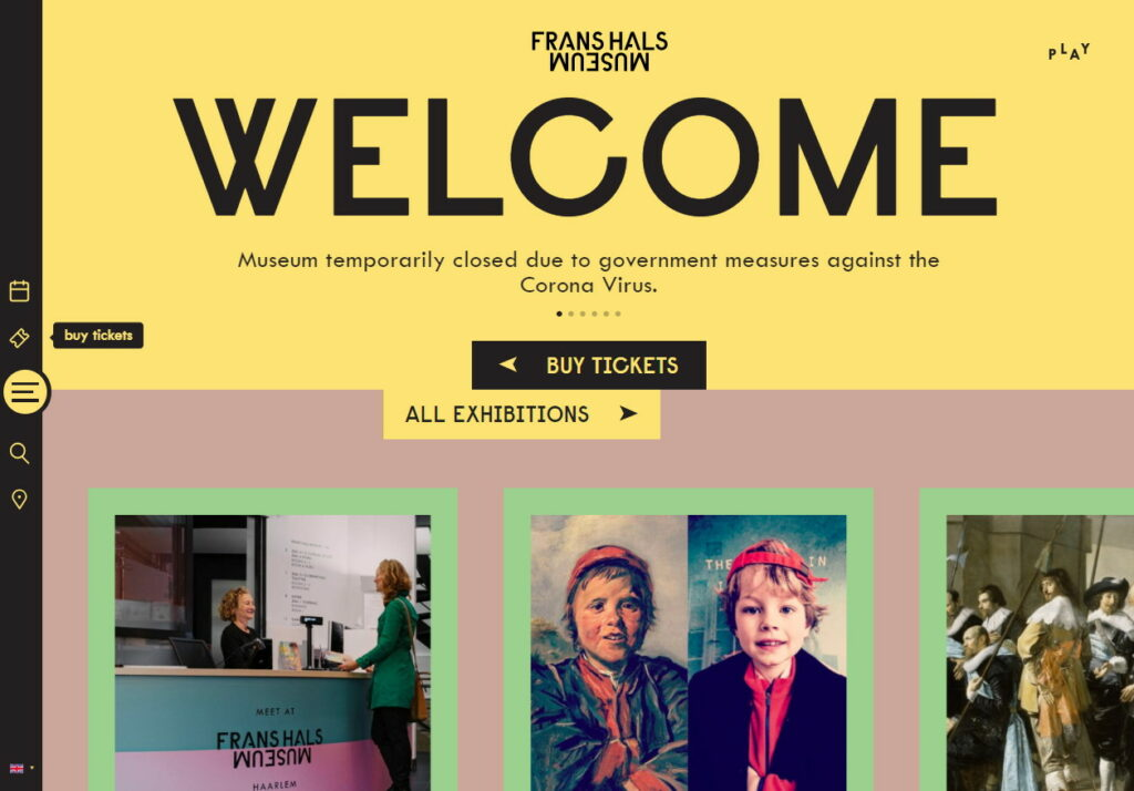 Our favourites websites right now - Frans Hals Museum