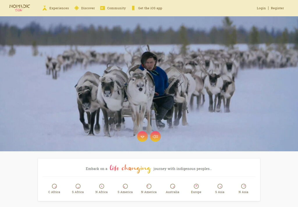 Our favourites websites right now - Nomadic Tribe