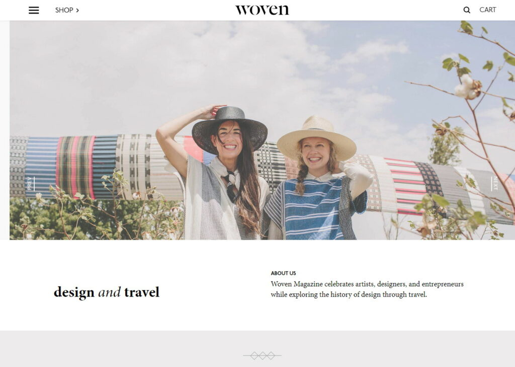 Our favourites websites right now - Woven Magazine